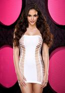 Naughty Girl Mini Dress - White