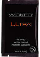 Wicked Ultra Silicone Lubricant .10oz (144 Per Bag)